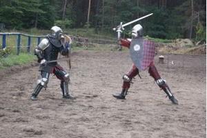 Pokazy rycerskie naimprezy średniowieczne